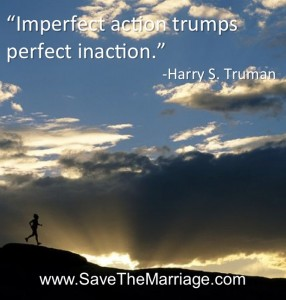 Take action to save your marriage.