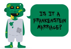 Is it a Frankenstein marriage?